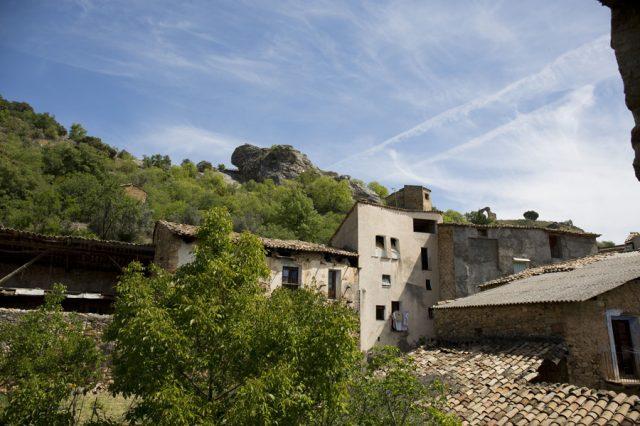 Vistas-casa-2-ventana-Casa-Grabiel-turismo-de-Areny-de-Noguera-Aragón