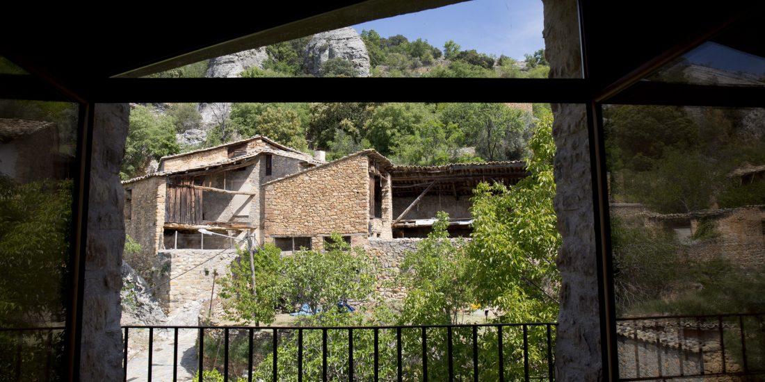 Vistas a la naturaleza desde la casa Centenaria Casa Graviel