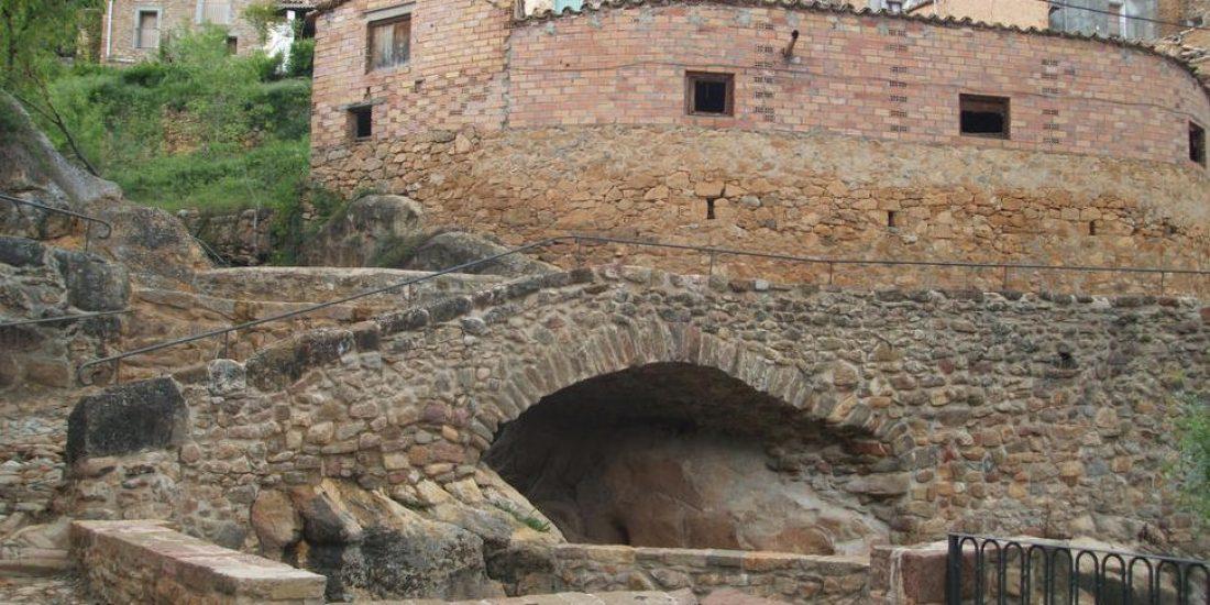 Vistas del puente de piedra